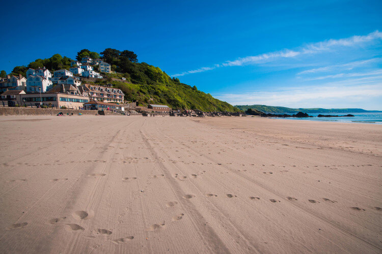 East Looe Beach Cornwall