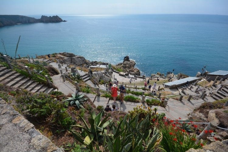 The Minack Theatre, Porthcurno