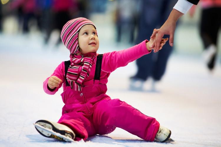 baby ice-skating