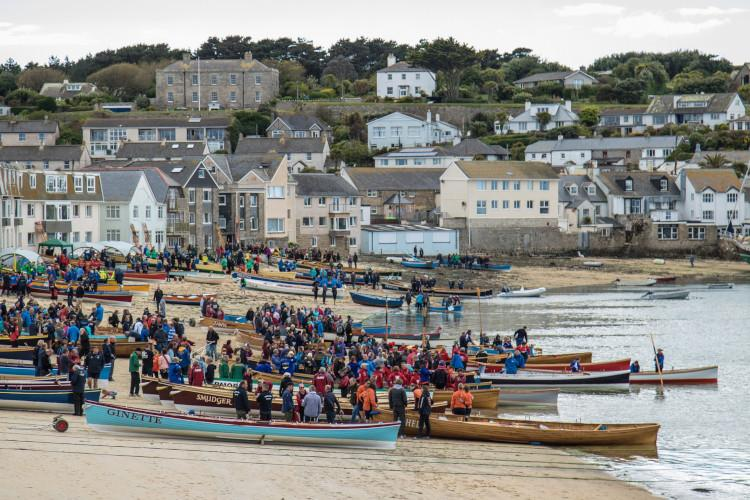 boats and people scilly isles