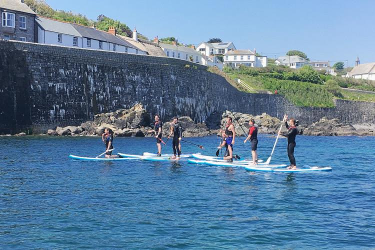 Coverack watersports cornwall
