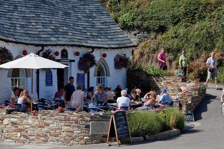 Eateries in Boscastle, North Cornwall