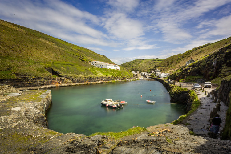 Boscastle Harbour, Cornwall