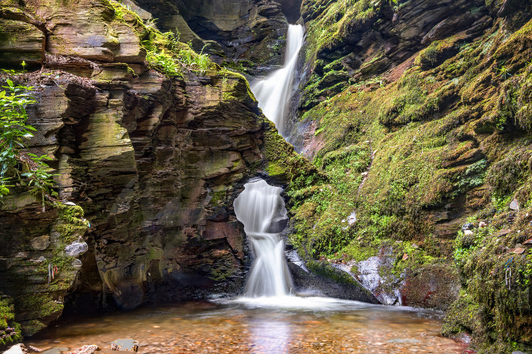 St Nectan's Glen, North Cornwall