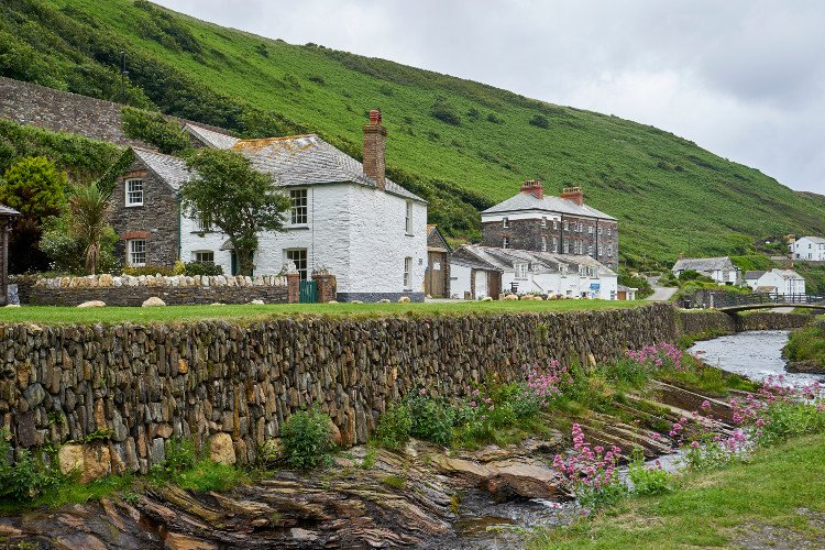 Boscastle in North Cornwall