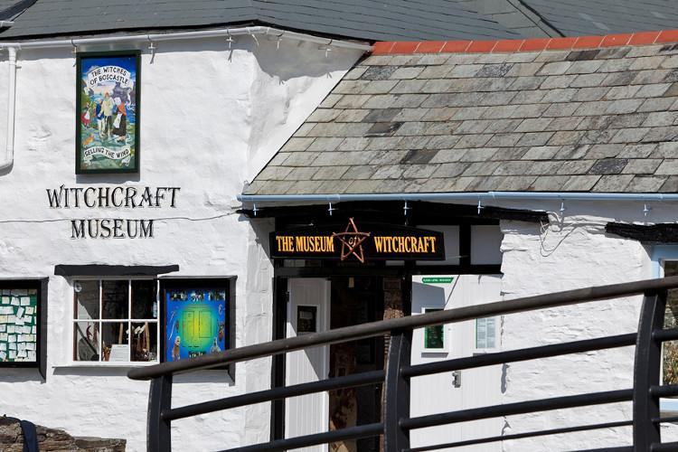 The Museum of Witchcraft in Boscastle, North Cornwall