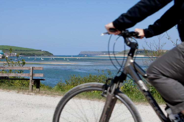 Camel Trail Padstow. North Cornwall