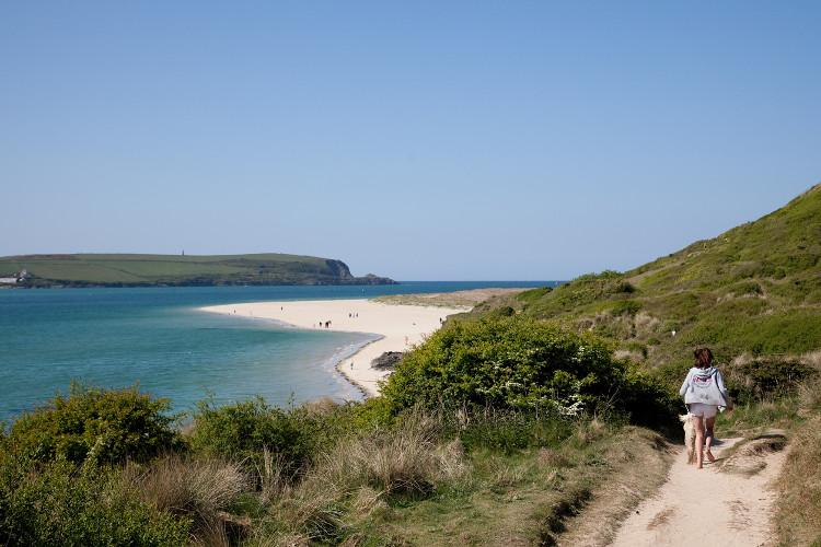 The South West Coast Path, Padstow, North Cornwall