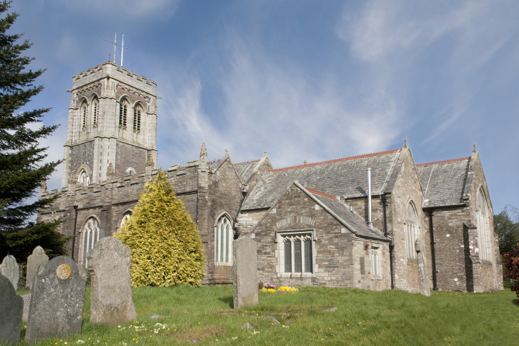 St Martin's Church in Liskeard