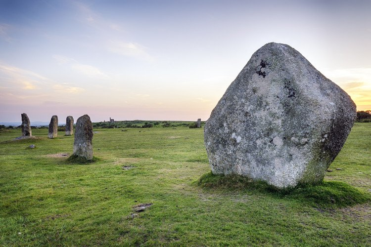 Hurlers Stone Circles on Bodmin Moor