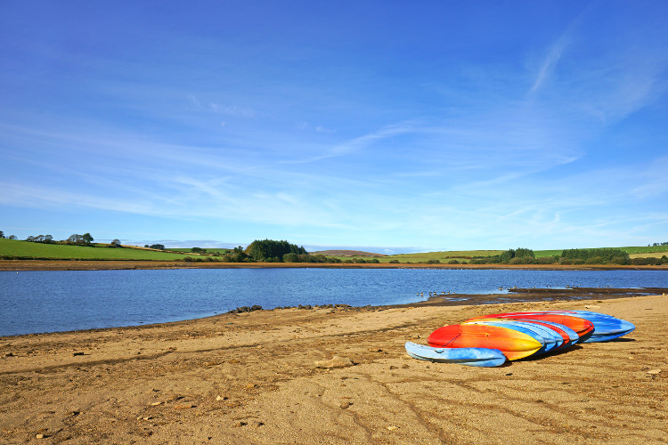 Siblyback Lake in Cornwall