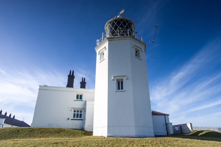 The Lizard Lighthouse in Cornwall