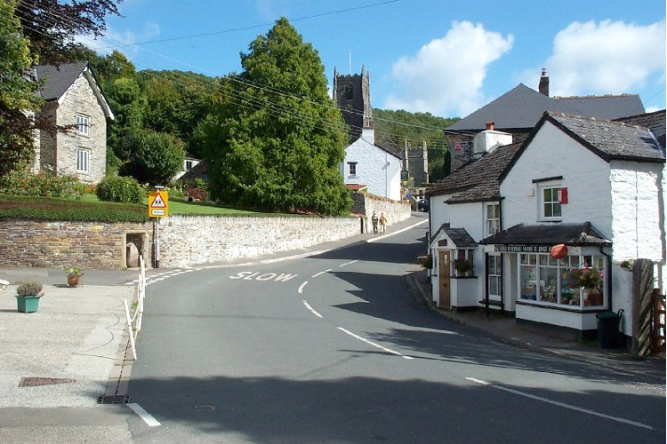 St Neot village in Cornwall