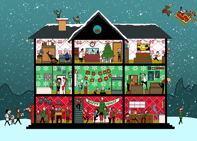 Spot the hidden turkeys in our Christmas brainteaser