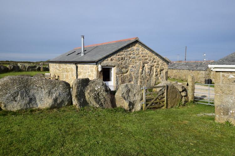 Ivy Cottage at Banns Farm Sennen Cornwall