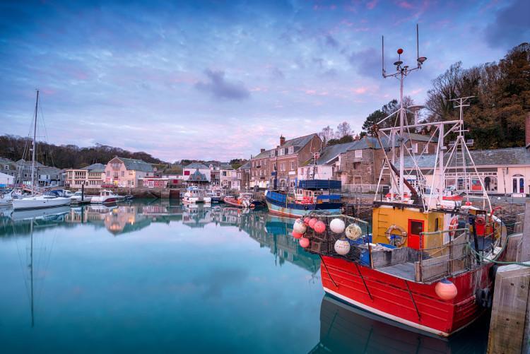 Padstow fishing boats