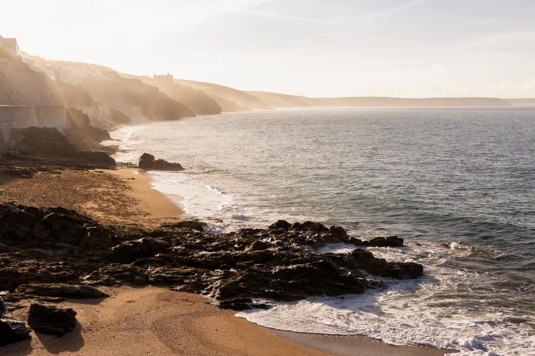 Porthleven beach Cornwall