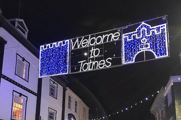 Totnes Night Christmas Market