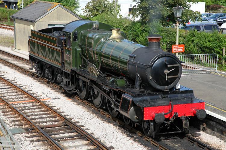 Dart Valley railway South Devon