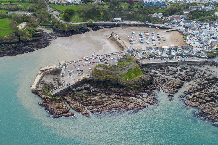 Ilfracombe aerial view