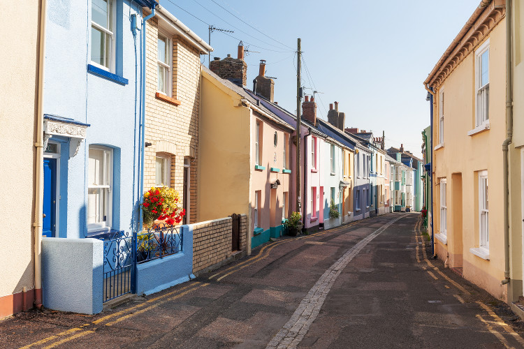 Appledore's colourful cottages