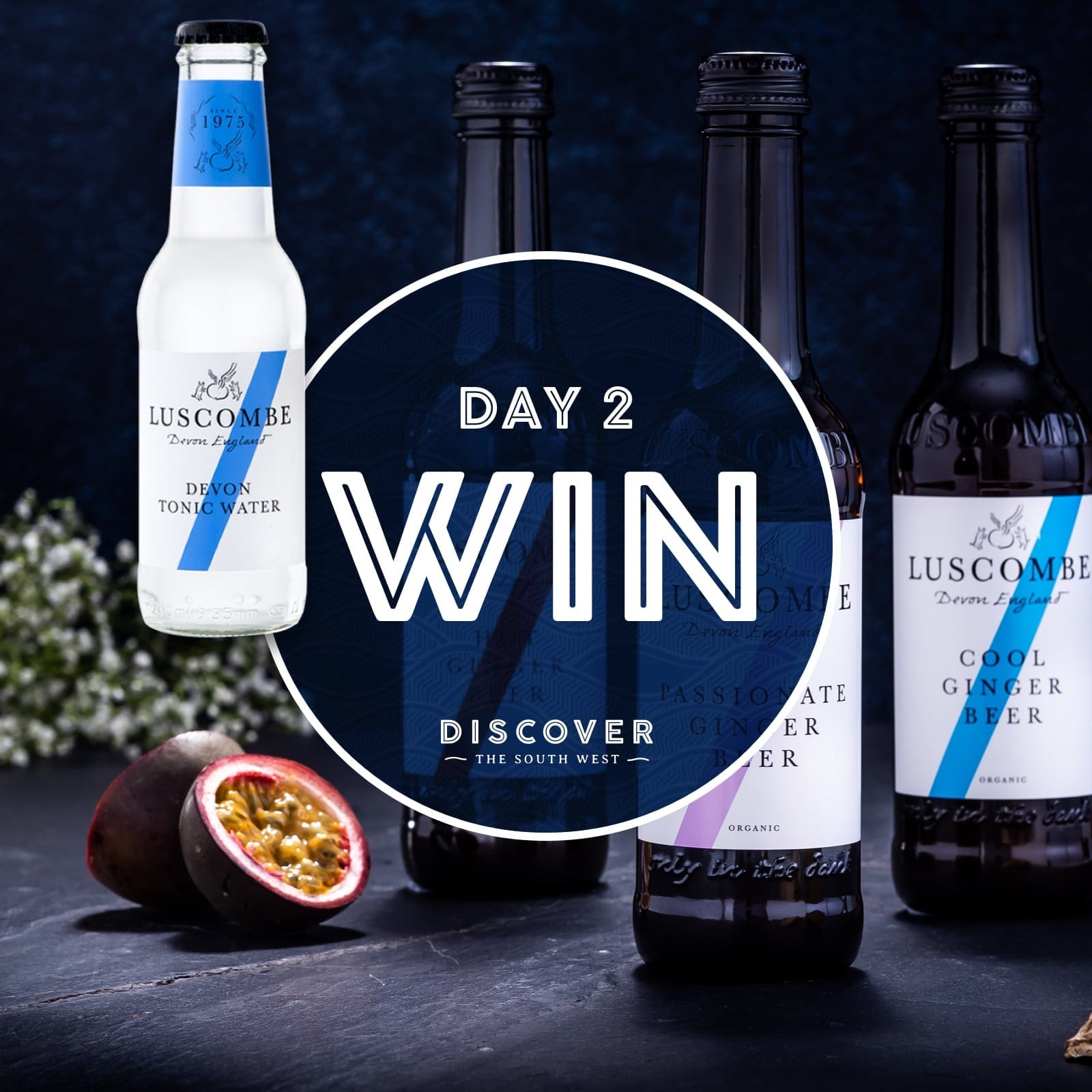 Luscombe drinks Christmas giveaway