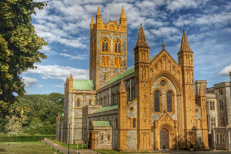 Buckfast Abbey in Dartmoor