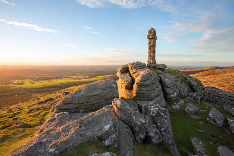Ancient monuments in Dartmoor National Park
