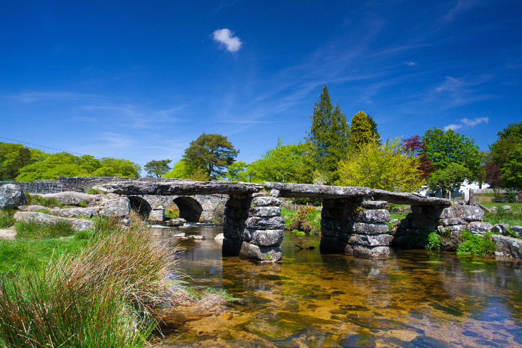 Postbridge Clapper Bridge, Dartmoor