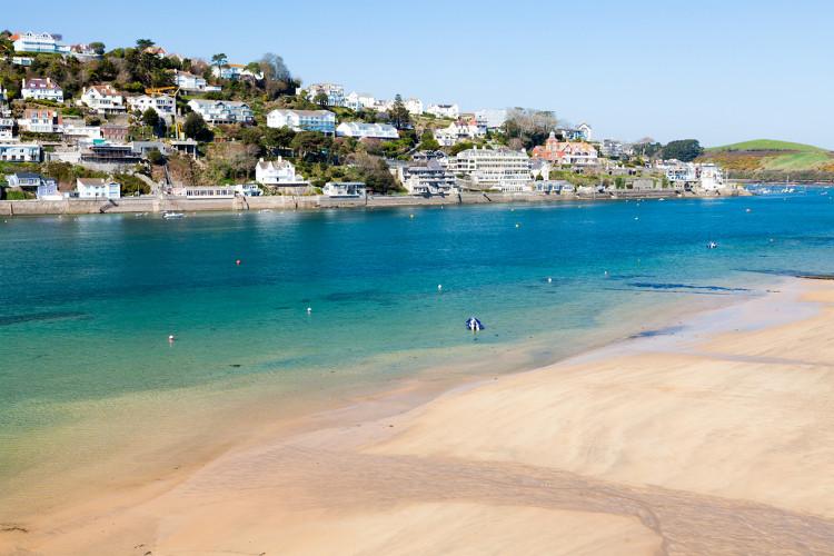 The beaches in Salcombe, South Devon