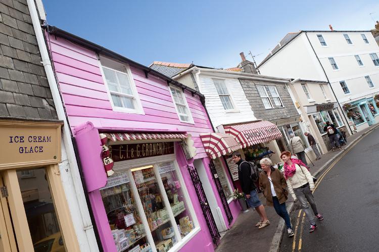 Salcombe in South Devon