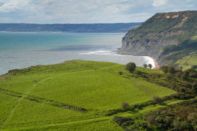 Follow the South West Coast Path from Sidmouth to Seaton