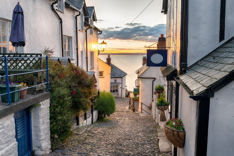 Clovelly Village in Devon
