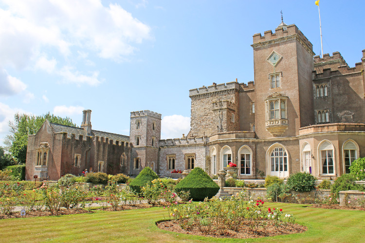 Powderham Castle in Exeter