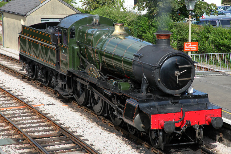 South Devon Railway in Buckfastleigh