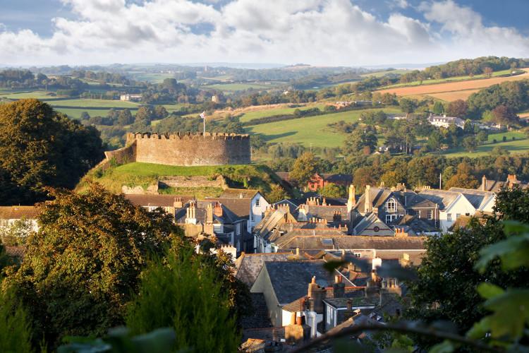 Totnes Castle, South Devon