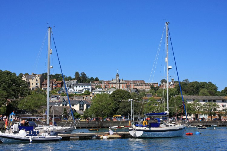 Cruise down the River Dart, Totnes