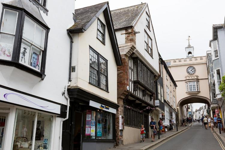 Browse the independent shops in Totnes, South Devon