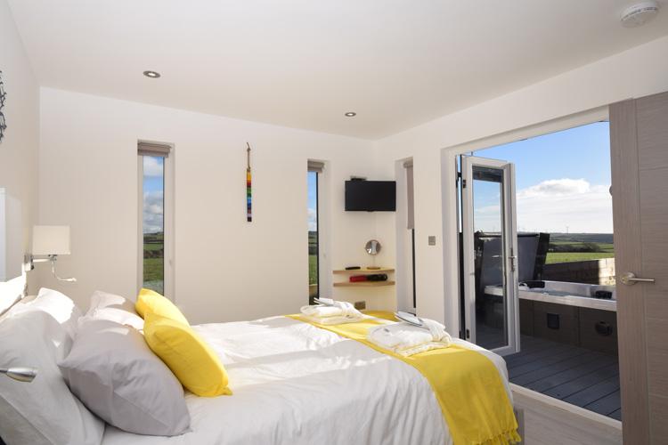 Woolacombe Retreat bedroom