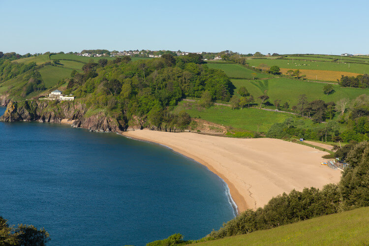 Blackpool Sands in Devon