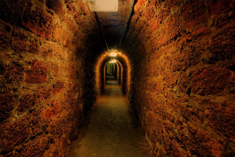 Shaldon tunnel