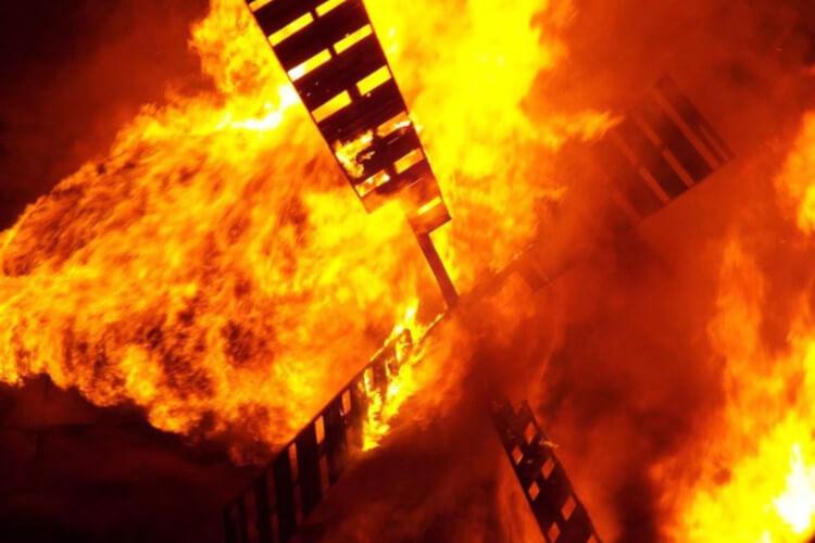 Torrington bonfire