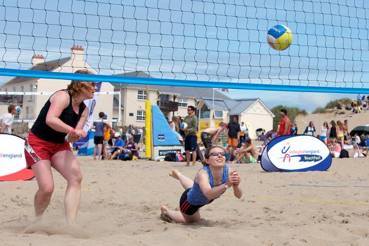 croyde volleyball