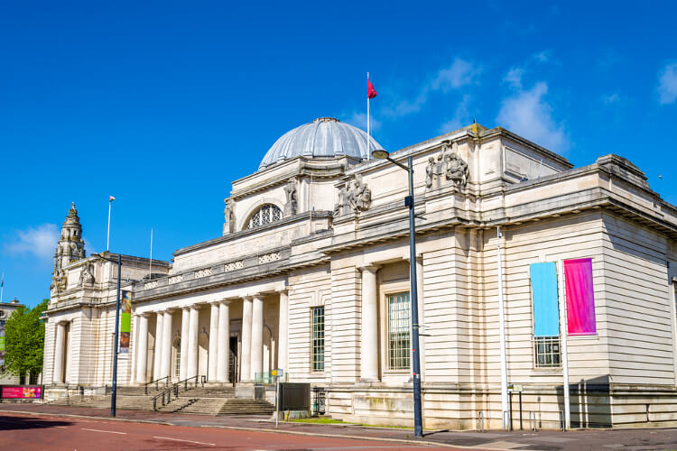 cardiff national museum in wales