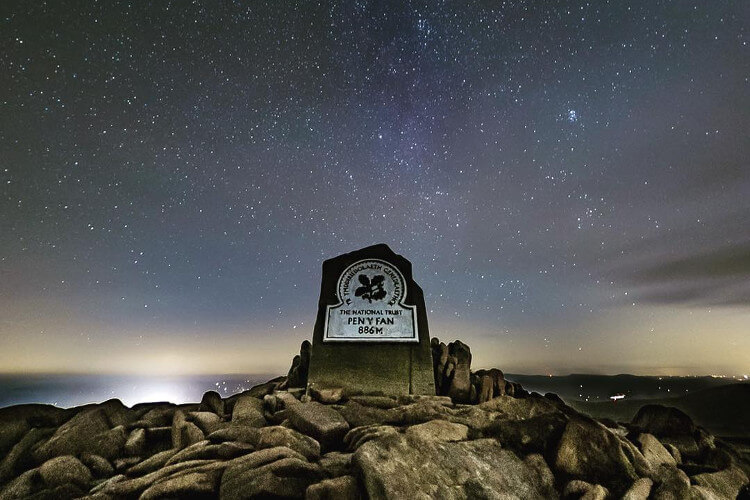 Pen y Fan stargazing