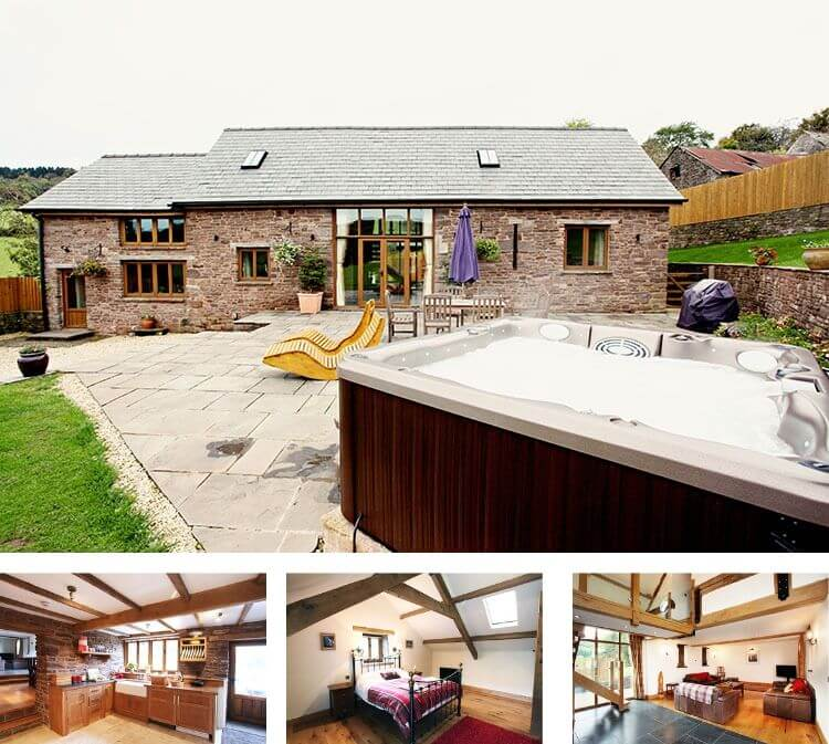Sugar Loaf Barn - Brecon Beacons holiday cottages