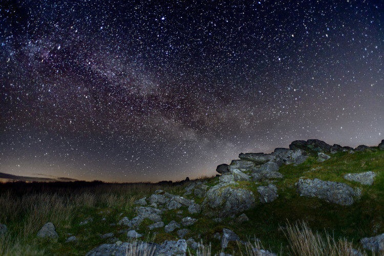 Brecon Beacons dark skies