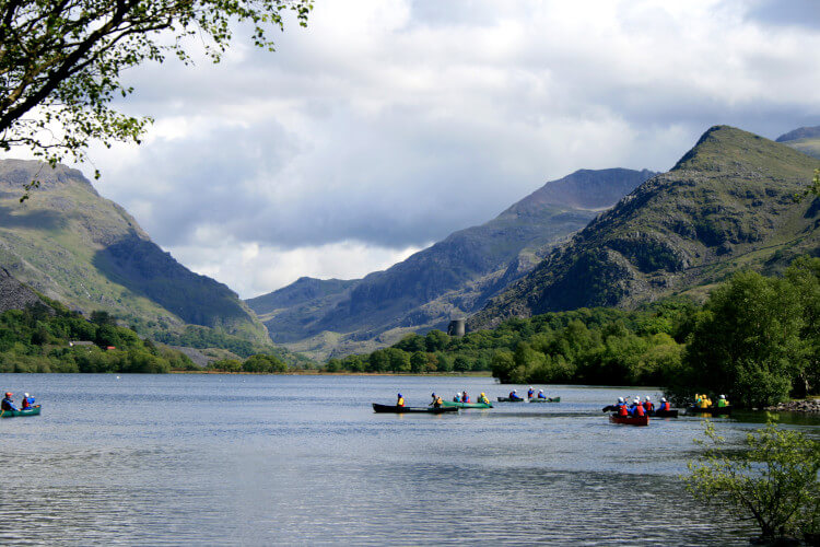 Activities in Snowdonia