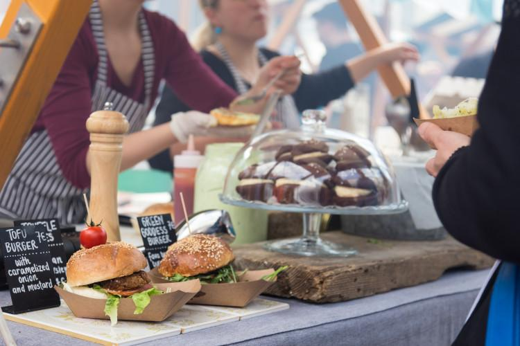 Cowbridge food and drink festival in Wales