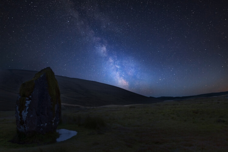 Stargazing in the Brecon Beacons
